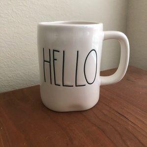 Rae Dunn Hello mug